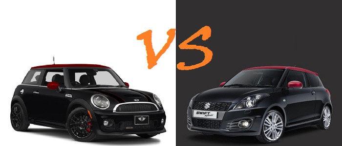 Okršaj: MINI Cooper vs Suzuki Swift Sport